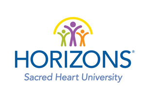Horizons at Sacred Heart University logo